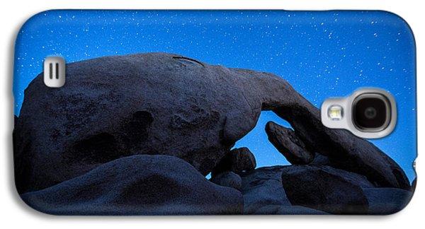 Arch Rock Starry Night 2 Galaxy S4 Case by Stephen Stookey