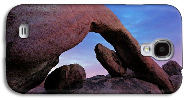 Arch Rock Sunset Galaxy S4 Case by Stephen Stookey