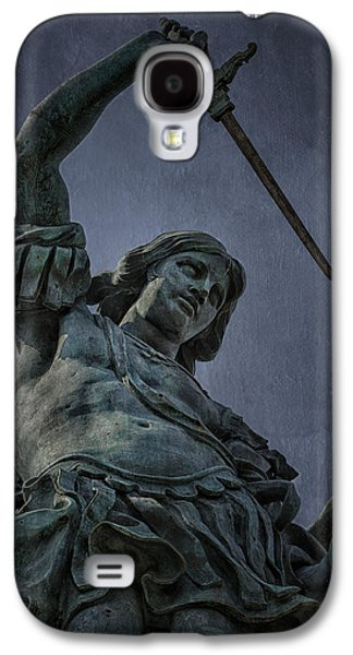 Pope Galaxy S4 Cases - Archangel Michael Galaxy S4 Case by Erik Brede