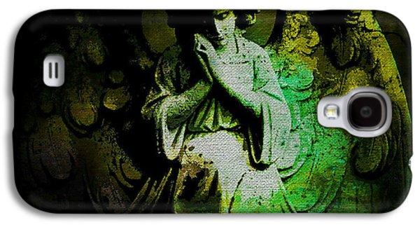 Archangel Uriel Galaxy S4 Case by Absinthe Art By Michelle LeAnn Scott