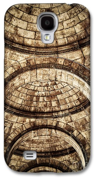 Stone Buildings Galaxy S4 Cases - Arches Galaxy S4 Case by Elena Elisseeva