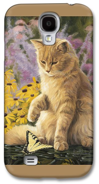 Domestic Galaxy S4 Cases - Archibald And Friend Galaxy S4 Case by Lucie Bilodeau