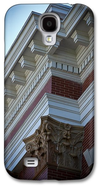 Creative Manipulation Galaxy S4 Cases - Architechture Morgan County Court House Galaxy S4 Case by Reid Callaway