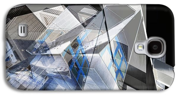 Chromatic Galaxy S4 Cases - Architectural Abstract Galaxy S4 Case by Wayne Sherriff
