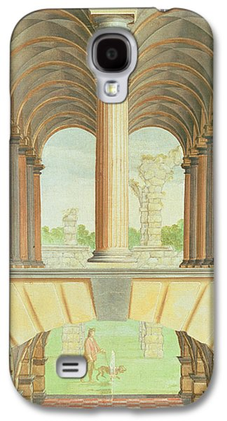 Building Drawings Galaxy S4 Cases - Architectural Capriccio Galaxy S4 Case by Jacobus Saeys