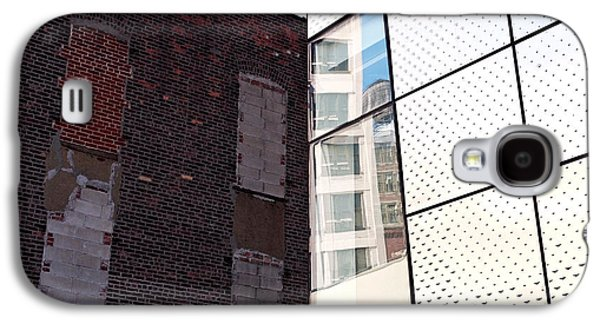 Steel Galaxy S4 Cases - Architectural Juxtaposition on the High Line Galaxy S4 Case by Rona Black