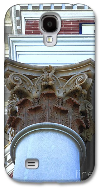 Creative Manipulation Galaxy S4 Cases - Architecture Column Madison GA Court House Galaxy S4 Case by Reid Callaway