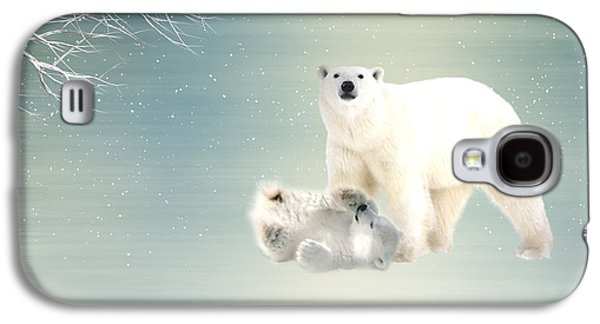 Bear Digital Galaxy S4 Cases - Arctic  Galaxy S4 Case by Sharon Lisa Clarke