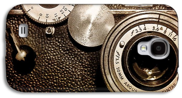 Original Art Photographs Galaxy S4 Cases - Argus - Vintage Camera Galaxy S4 Case by Colleen Kammerer