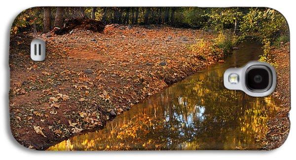 Oak Creek Galaxy S4 Cases - Arizona Autumn Reflections Galaxy S4 Case by Mike  Dawson