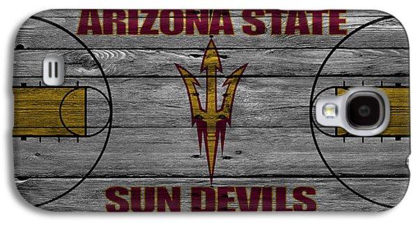 Sun Galaxy S4 Cases - Arizona State Sun Devils Galaxy S4 Case by Joe Hamilton