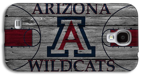 Dunk Galaxy S4 Cases - Arizona Wildcats Galaxy S4 Case by Joe Hamilton