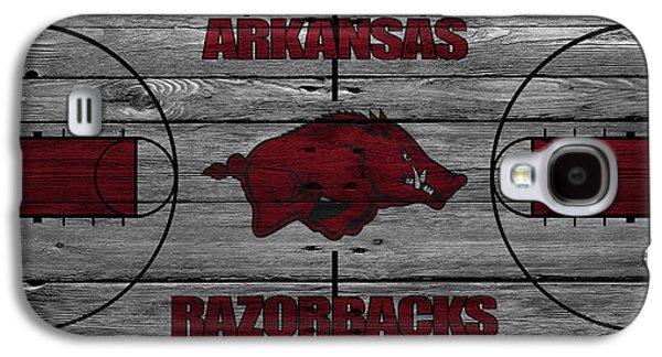 Arkansas Razorbacks Galaxy S4 Case by Joe Hamilton