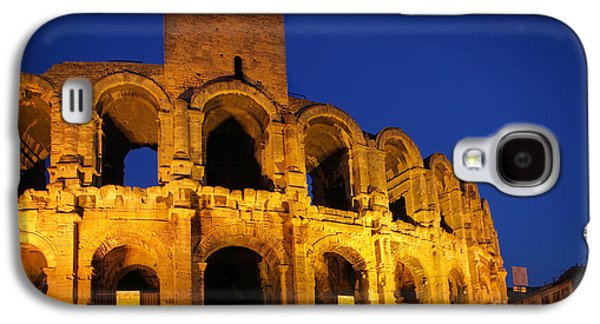 Arles Galaxy S4 Cases - Arles Roman Arena Galaxy S4 Case by Inge Johnsson