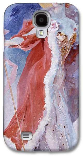 Alluring Paintings Galaxy S4 Cases - Arlette Dorgere Galaxy S4 Case by Jules Cheret