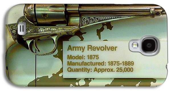 Old Relics Galaxy S4 Cases - Army Revolver 1875 Galaxy S4 Case by Lori Seaman
