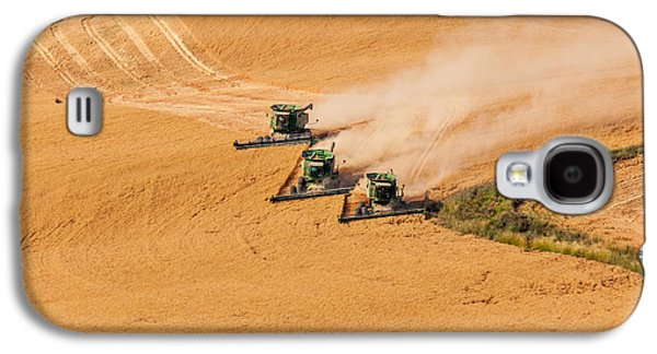 Machinery Galaxy S4 Cases - Around the Bend Galaxy S4 Case by Mary Jo Allen