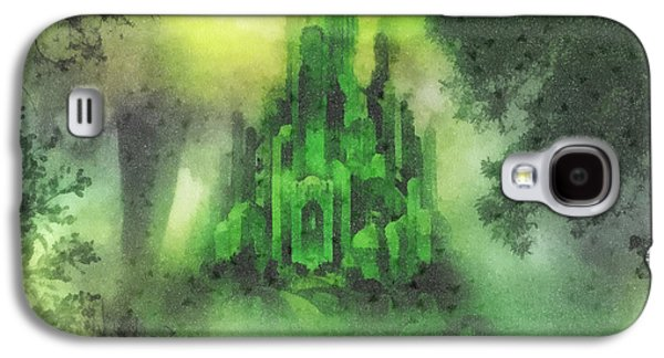 Arrival To Oz Galaxy S4 Case by Mo T