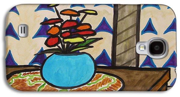 Interior Still Life Drawings Galaxy S4 Cases - Arrowheads Galaxy S4 Case by John  Williams