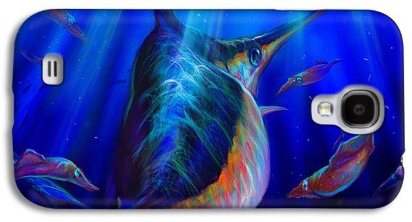 Shark Digital Galaxy S4 Cases - Arrows Vs One Sword   Galaxy S4 Case by Yusniel Santos
