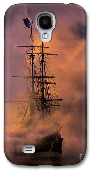 Pirate Ship Galaxy S4 Cases - Arrr Galaxy S4 Case by Stephanie Laird