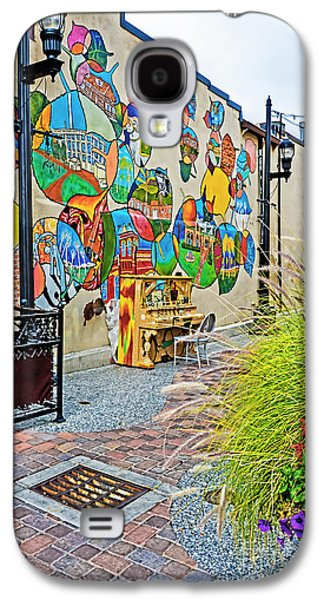 Fort Collins Galaxy S4 Cases - Art Alley 2 Galaxy S4 Case by Keith Ducker