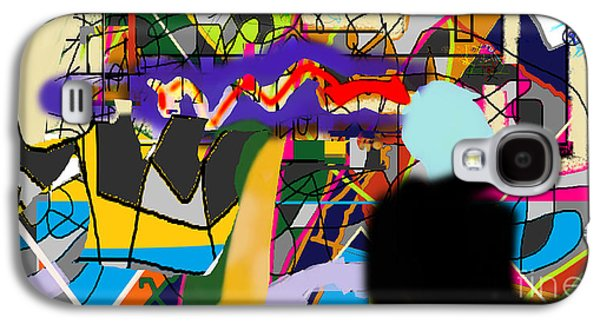 Inner Self Galaxy S4 Cases - Art And Writing 4e Galaxy S4 Case by David Baruch Wolk