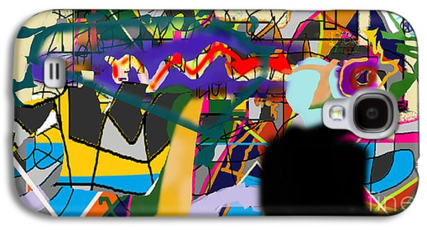 Inner Self Galaxy S4 Cases - Art And Writing 4f Galaxy S4 Case by David Baruch Wolk