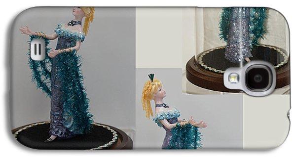 Fired Ceramics Galaxy S4 Cases - Art Deco Mannequin Galaxy S4 Case by Shirley Heyn