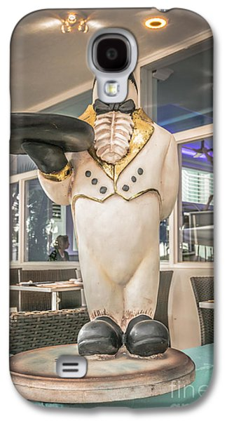 Art Deco Penguin Waiter South Beach Miami - Hdr Style Galaxy S4 Case by Ian Monk