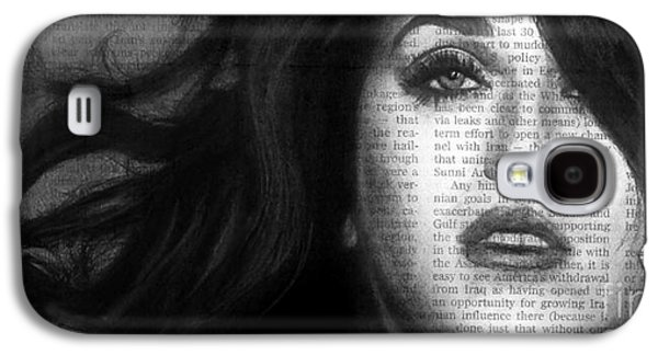 Katy Perry Galaxy S4 Cases - Art in the News 37- Katy Perry Galaxy S4 Case by Michael Cross