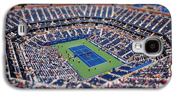 Tennis Photographs Galaxy S4 Cases - Arthur Ashe Stadium from High Angle Galaxy S4 Case by Mason Resnick