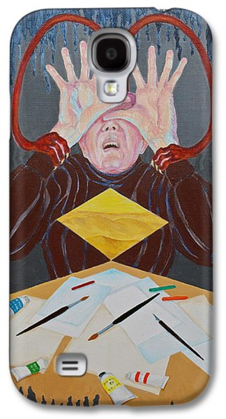 Inner Self Galaxy S4 Cases - Artist Block Galaxy S4 Case by Michele Myers