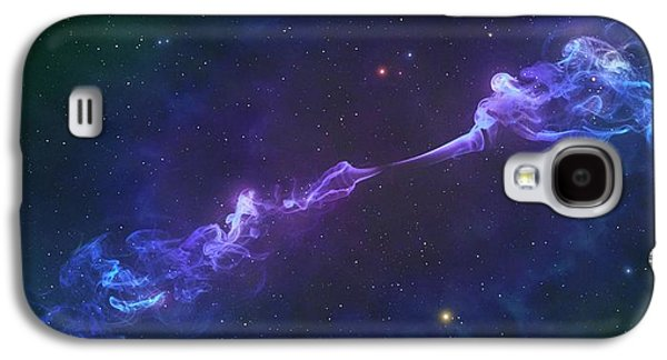 Artwork Of A Herbig-haro Object Galaxy S4 Case by Mark Garlick