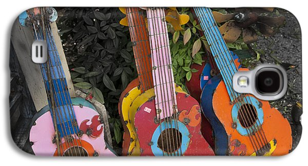 Ukelele Galaxy S4 Cases - Arty Yard Guitars Galaxy S4 Case by Greg Kopriva