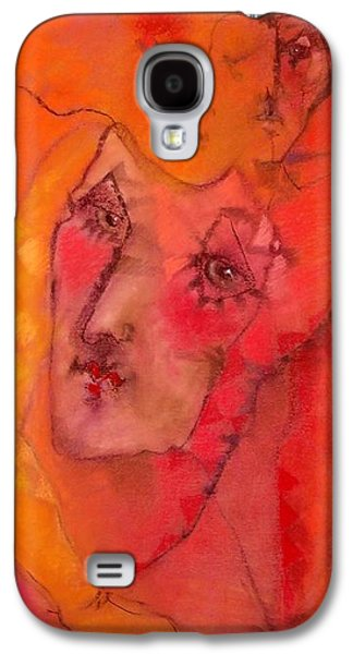 Torn Pastels Galaxy S4 Cases - As He Left His Warmth Behind Galaxy S4 Case by Josie Taglienti