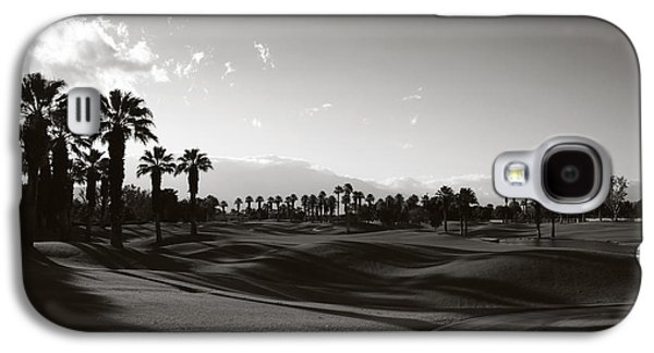 Monotone Galaxy S4 Cases - As Shadows Spread Across the Land Galaxy S4 Case by Laurie Search