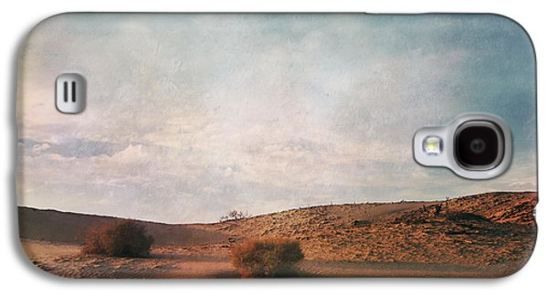Cloudscape Digital Galaxy S4 Cases - As the Sand Shifts So Do I Galaxy S4 Case by Laurie Search