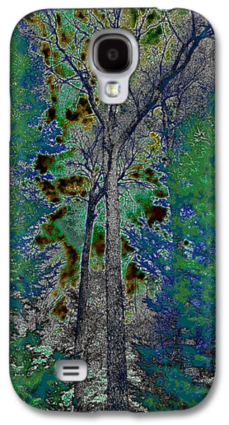 Surreal Landscape Galaxy S4 Cases - Ascending Trees Galaxy S4 Case by David Patterson