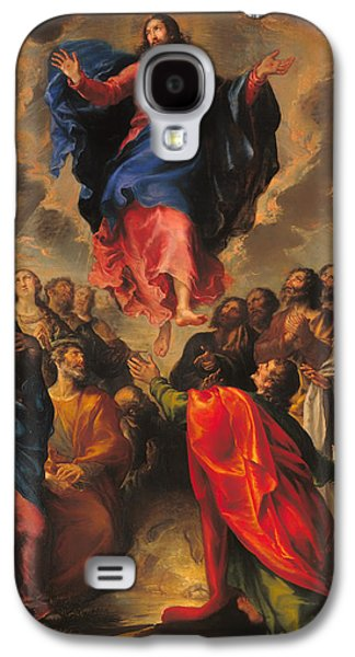 Christian work Paintings Galaxy S4 Cases - Ascension Galaxy S4 Case by Francisco Camilo