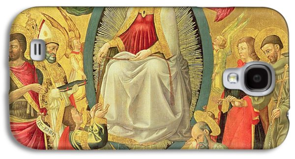 Francis Photographs Galaxy S4 Cases - Ascension Of The Virgin, 1465 Egg Tempera And Gold On Panel Galaxy S4 Case by Neri di Bicci