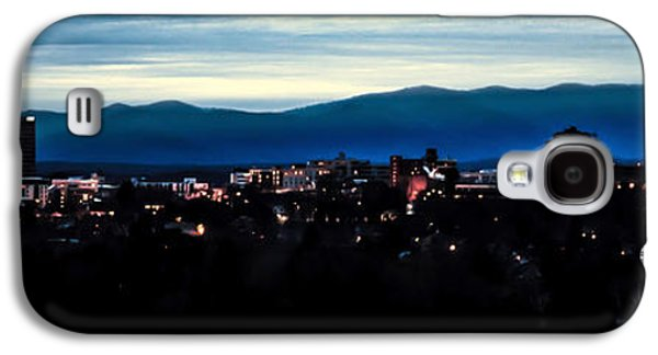 Asheville Galaxy S4 Cases - Asheville Skyline Galaxy S4 Case by Karen Wiles
