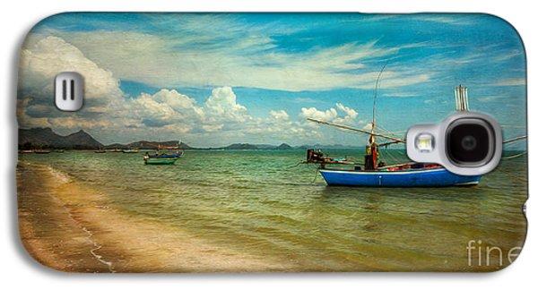 Coastline Digital Art Galaxy S4 Cases - Asian Beach Galaxy S4 Case by Adrian Evans