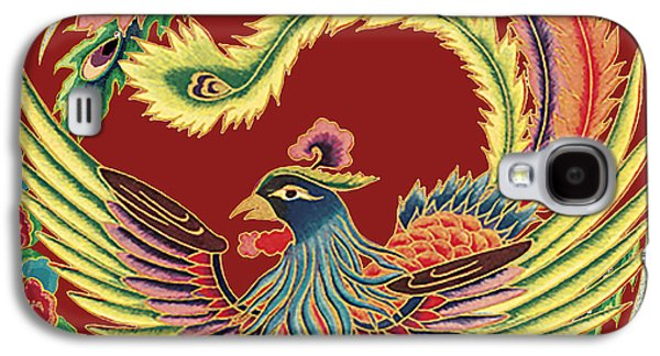 Nature Study Digital Art Galaxy S4 Cases - Asian Bird-JP2141 Galaxy S4 Case by Jean Plout
