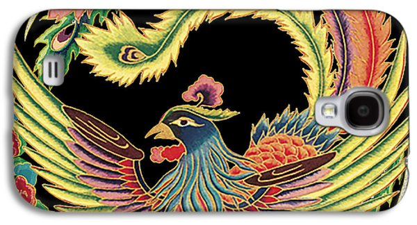 Nature Study Digital Art Galaxy S4 Cases - Asian Bird-JP2145 Galaxy S4 Case by Jean Plout