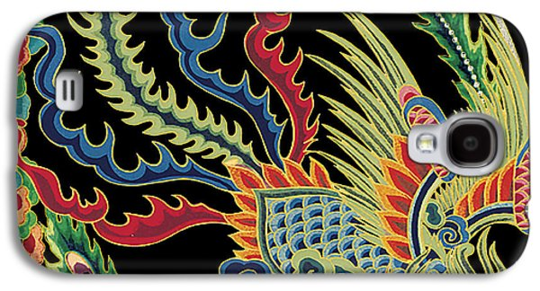 Nature Study Paintings Galaxy S4 Cases - Asian Bird-JP2146 Galaxy S4 Case by Jean Plout