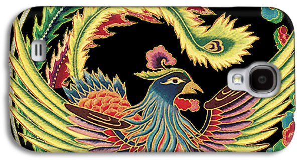 Nature Study Digital Art Galaxy S4 Cases - Asian Bird-JP2148 Galaxy S4 Case by Jean Plout