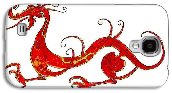 Asian Dragon Galaxy S4 Case by Michael Vigliotti