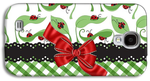Asiatic Ladybugs  Galaxy S4 Case by Debra  Miller