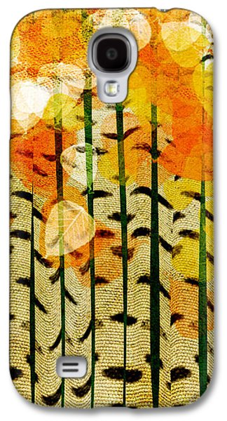 Digital Design Galaxy S4 Cases - Aspen Colorado Abstract Square 4 Galaxy S4 Case by Andee Design